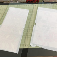 Bookcloth Drying