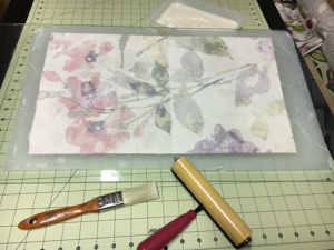 Rice Paper on Fabric