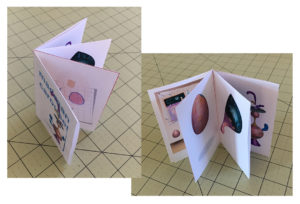 Handmade Origami Book Bookmaking Example