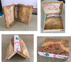 Handmade Clamshell Box Bookmaking Example