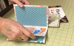 Handmade Traditional Hardcase Portfolio Bookmaking Example